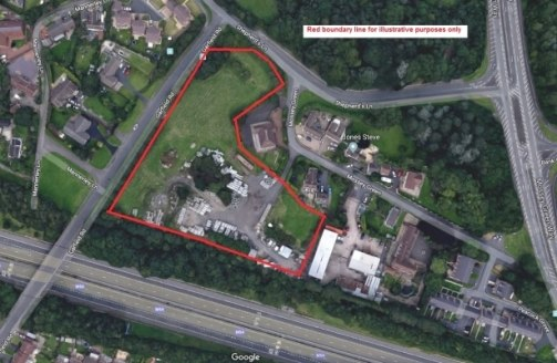 The site comprises an irregular shaped piece of development land extending to approximately 2.945 acres, which previously had planning permission for residential development, albeit this has recently expired. It currently comprises of Greenfield land...