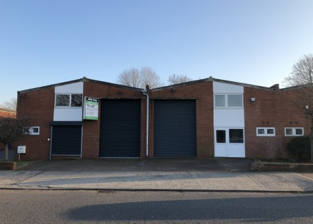 Units 6 & 7 are adjacent units in a terrace of four. They provide self-contained warehouse and office accommodation offered in good order throughout. The premises are available individually in their current configuration, or as a whole, with the remo...