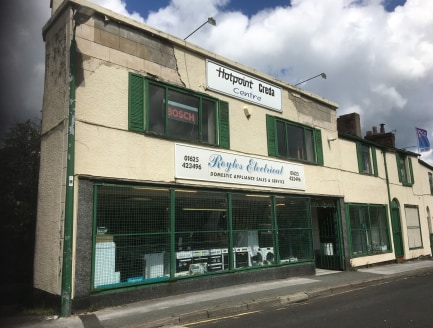 The property is found on the northern side of Park Lane close to its junction with Churchill Way a short walk from the town centre. It is set back from the road with on road parking area.  The property comprises a triple fronted two storey retail pre...