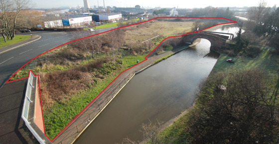 A high profile, canal side site for leisure/employment use.