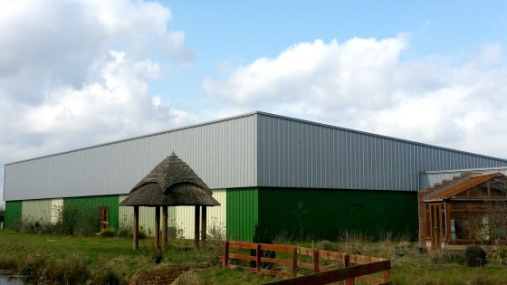A range of interconnecting warehouse, office & showroom buildings each being of steel portal frame construction and clad to the external elevations in steel profile sheeting.   The building is available as a whole or separately to suit individual req...