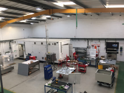 An Industrial / Warehouse Unit with two storey offices.  Potential to lease up to 18,000 sq ft in addition.  7,930 sq ft  Offers in the Region of £200,000.