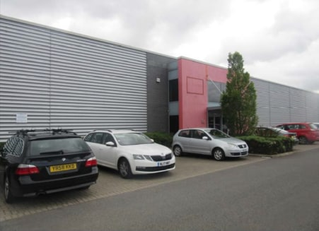 The premises comprise a terraced self-contained modern industrial unit. Externally they have car parking to their frontage with a secured shared service yard to the rear. Access to the warehouse area is via up an up and over electrically operated rol...