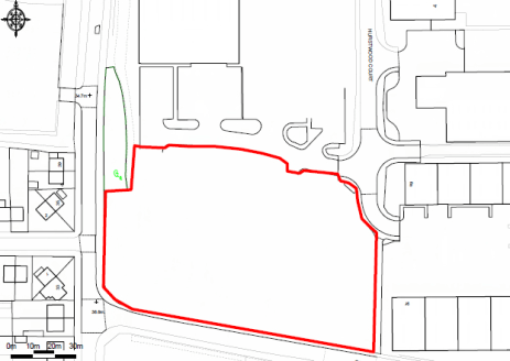 **UNDER OFFER**  The site comprises a relatively flat, rectangular shaped open storage area which benefits from being located within a fully fenced and secure site, as show edged red on the plan. The site has recently been levelled and provides a har...