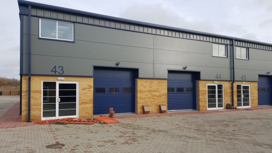 New Industrial / Warehouse Unit   Total GIA 125.04 sq m (1,346 sq ft)