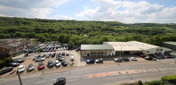 The property comprises of a ground floor industrial unit situated on the site of the Former Land Rover Car showroom. Internally the properties benefit from drive in loading access via an up and over roller shutter loading doors, welfare facilities wi...