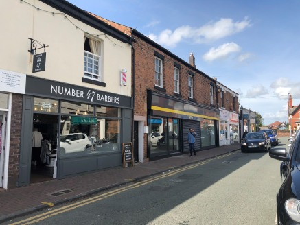 Prominent retail unit to let in Hoole, Chester.  The property comprises 1,342 sq ft ground floor space and is available by way of a new full repairing and insuring lease for a term to be agreed at a rent of £22,500 per annum.