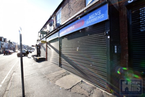 **FREEHOLD COMMERCIAL FOR SALE** Retail space with A1 / A2 License & 2 bedroom accommodation above. Located on the busy road of Attercliffe with many amenities nearby. Large front shop window displays!