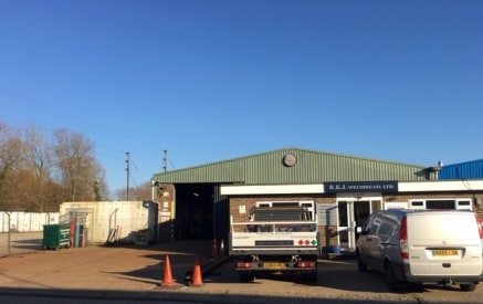 Unit 2 comprises a brick built office pod with flat roof adjoining a steel framed pitched roof workshop building to the rear.  The property includes entrance reception, three offices (one self contained with kitchen and WC), main kitchen and ladies W...