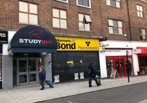 "<p>Situated on Trinity Street, opposite Sainsbury's and close to the West Orchards shopping centre in the city centre.</p><ul>  <li class=""p1"">Extremely busy trading position</li>  <li class=""p2"">Directly underneath the Study Inns student accommodati..."