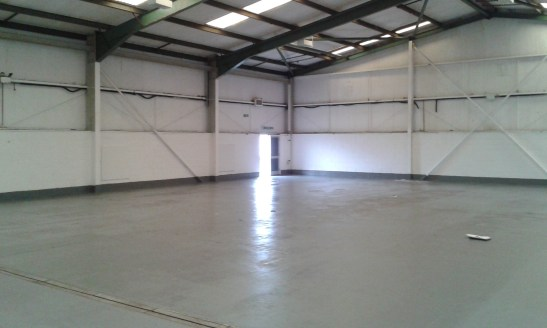 2 electrically operated sectional up and over loading doors. Close to trade counter operators. Production area heating and lighting. Attractive open plan setting. Loading doors 3.5m(w) by 4.6m(h).