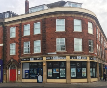 6 retail units. Basement with conversion potential to spacious town centre apartments. Income from ATM. Reversionary interest in upper floors. Rental income at 01/11/19 £57,060.