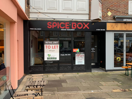 Formerly occupied by Spice Box, the property is located on the principal High Street next to The Squirrel Brewing Co beer tasting and bottle shop, in the same block as HSBC, close to, and on the same side of the road as Marks & Spencer Simply Foods,...