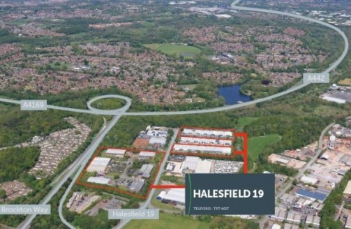 Halesfield 19 comprises a range of terraced industrial/warehouse units incorporating offices and service yards. The units are of steel portal frame construction with brick and blockwork elevations and electric roller shutter entrance doors....
