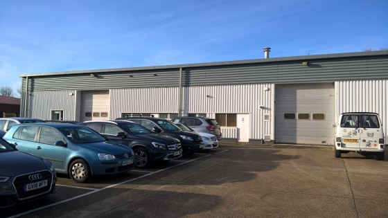 Two Industrial Units Available Separately or Together