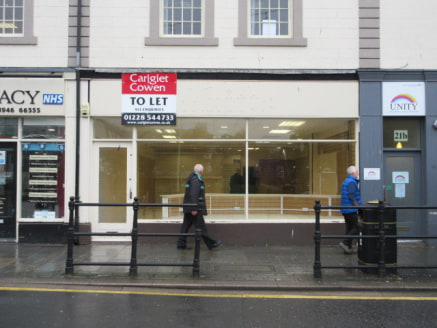 SHORT TERM LETS CONSIDERED**<br><br>A modern ground floor unit positioned within a strong secondary trading location in the town of Whitehaven.<br><br>Ready for immediate occupation. Suitable for a variety of uses, subject to planning....