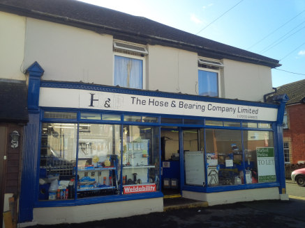 This ground floor lock-up shop provides a little under 650 sq ft of retail space in this double fronted corner location, having a width of some 27ft and a built depth of approximately 23 sq ft, it is suitable for a variety of different uses. To the r...