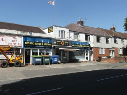 **DOUBLE FRONTED RETAIL UNIT FOR SALE**  A substantial showroom of approximately 2641sqft, benefiting from a prominent retail and a front forecourt and situated on a main road between Fishponds and Staple Hill.   Also available To Let for �25,000 per...