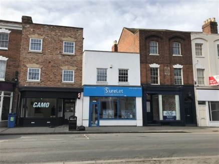 High quality self-contained retail unit with offices above. Available as a single lot or in...