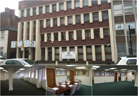 The suite forms part of a modern 4 storey purpose-built office premises with on-site parking. Accessed off Waterloo Road, both suites have been recently renovated to a high standard and benefit from fitted window blinds, gas central heating radiators...