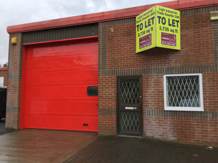 The property comprises part of a modern terrace of single-storey industrial units of steel portal frame construction, with external cladding of brickwork and profile metal sheet. The unit benefits from: