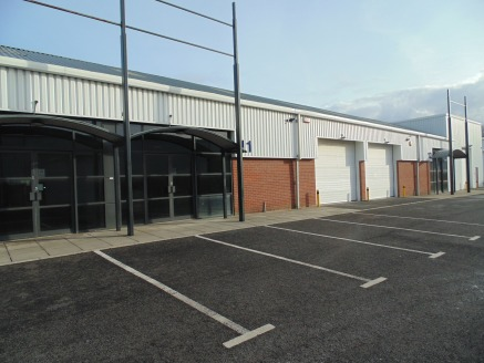 Modern Trade Park Units. Highly Visible from A695 Chainbridge Road. Eaves Heights up to 6m. Fully refurbished. Other occupiers include SAS Car Parts and Lord Tool Hire.