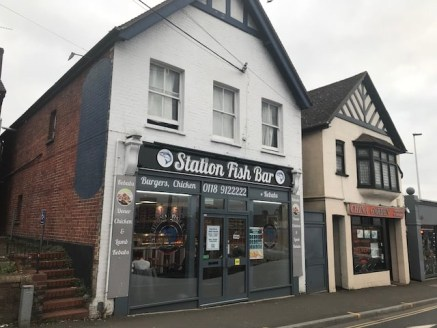 The premises are prominently located in Station Road, Wokingham close to the entrance of Wokingham railway station. Premises comprise detached shop property with the benefit of A5 takeaway use, food preparation and extensive ancillary storage areas t...
