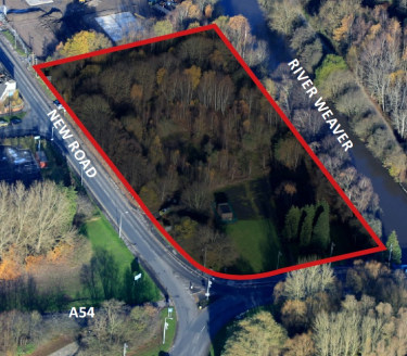Development opportunity in Winsford, suitable for a variety of roadside/leisure uses (STP).  2.69 Acres   Price on Application