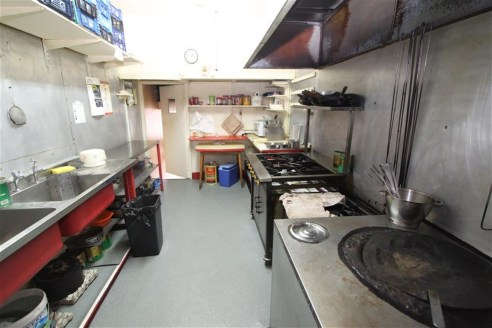 A mixed use property arranged as a fully fitted ground floor takeaway with a self contained two bedroom first floor flat above. The takeaway is offered for sale with vacant possession and the flat is current let at �750pcm. The property is situated c...