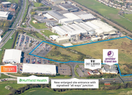 A mixed use employment site located approximately 3 miles to the east of Gloucester City Centre and 6 miles west of Cheltenham. Excellent access to the M5 via Junction 11 and 11a....