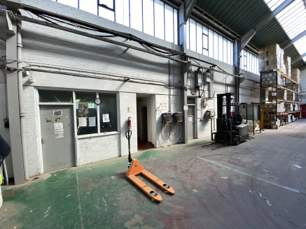 The subject property comprises a substantial detached industrial warehouse premises, with two storey office accommodation and set upon a site area of c3.21 acres (1.3 hectares).   The original buildings comprise of two large high bay, warehouse build...