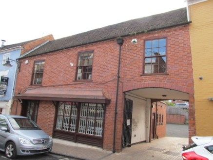 A two storey 1,345 sq ft office/retail premises. At the side of the property there is a gated courtyard giving access to a good sized tarmacadam car parking area which is easily able to accommodate six vehicles.