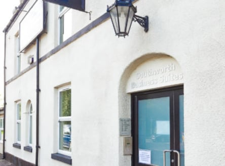 The former Public House offers stylish office accommodation over three floors with a small self contained office unit with storage to the rear in a converted barn. Suite 11 is located on the first floor....