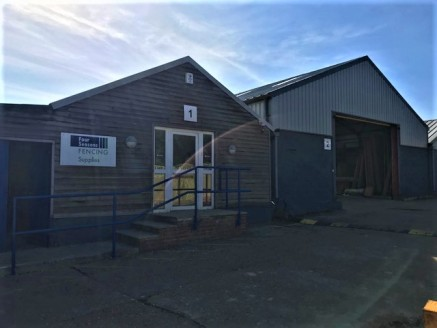 This end-terraced unit is currently used for the retailing of fencing products but it is felt eminently suitable for a wide range of alternative uses including equestrian, building supplies and the like. The unit nearest provides a retail area of som...