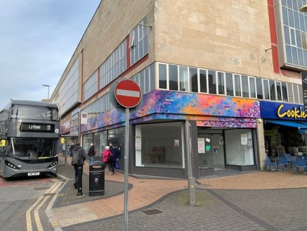 The property comprises a corner retail unit arranged over two floors. The main entrance is off Church Street with the main retail frontage to Market Street. The ground floor and the majority of the first floor have previously been used for retail dis...