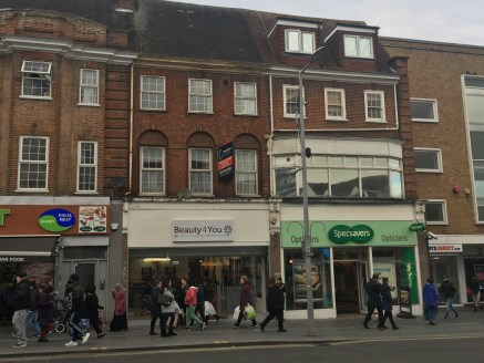A ground floor A1 retail unit with 2 self contained 1 bedroom flats on first and second floors. The shop is approx 1237 sq ft overall with an ITZA of 636 sq ft.