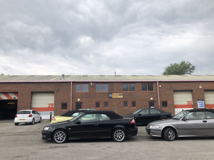 High quality industdrial units in an established location.  5,709 sq ft  Rent - £31,400 per annum