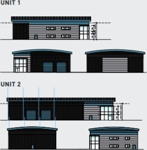 * 2 X High quality detached industrial/logistics units  * High bay warehouses  * First floor fitted offices  * Good onsite Car spaces  * 2 X Loading doors  * 8m Eaves height  * To be built to a very high standard  * Available Q3 2021