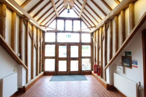 Attractive self contained barn conversion office suite