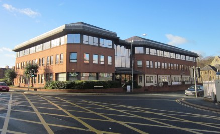 Prominent, Modern Office Building With Parking\nLong & Short Term Lettings Available\nGround, First & Second Floor Suites Available\nSuite Size / Area Available From 16.72 sq m (180 sq ft) to 671....