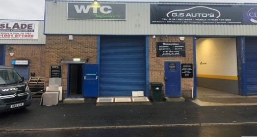 Available immediately<br><br>* mid terrace warehouse / trade counter unit set within secure managed estate * gia: 75.93 M2 (817 sq ft) * excellent roadside frontage onto newbiggin lane * former tile showroom with similar uses considered...