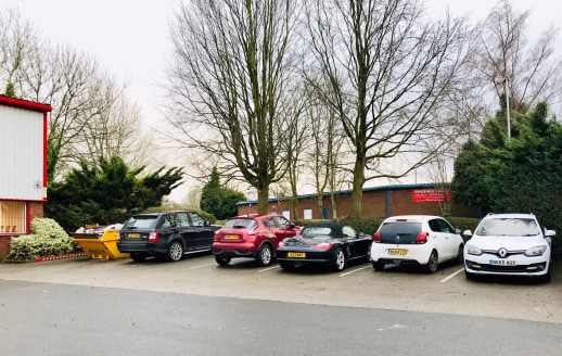 Detached modern 7433 sq ft (approximately) Industrial Unit/warehouse/distribution Centre.  The detached unit is measured at approximately 4896 Sq ft, with 1268 sq ft Mezzanine level floor area, approximately 1268 sq ft of office space and trade count...