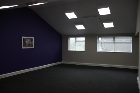 Newly refurbished office in a rural setting on an established business park