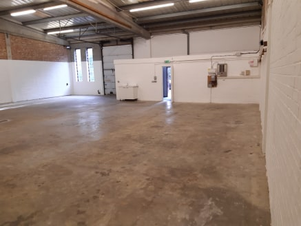 Industrial Warehouse Unit with Parking at Front.