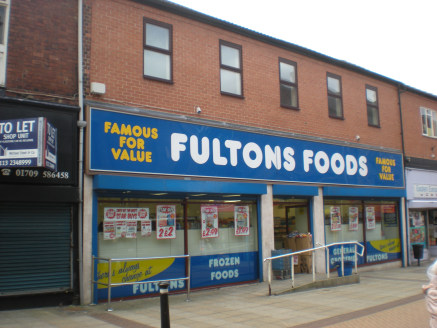 Town centre retail investment let to Frozen Value Limited (t/a Fulton Foods) on a full repairing and insuring lease expiring in July 2023. Current rent £29,000 per annum....