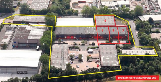7m eaves. Electric roller shutter loading doors. Warehouse lighting. Two storey offices. Dedicated loading and car parking. Secure site.