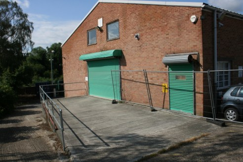 A good quality industrial unit with private yard and mezzanine