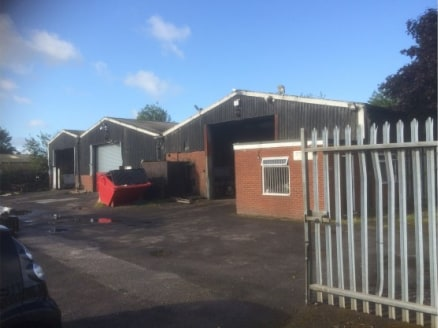 Three workshops plus office extending in total to 9,085 sq.ft. (844 sq.m.) on a total site of 0.5 acres (0....