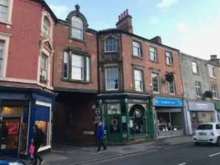 Highly prominent retail unit with upper floor offices. Belper is named 'Best British High Street 2019' Two-minute walk to public car park and Belper Train Station....