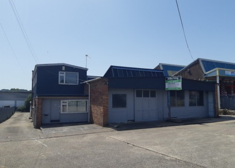 A detached industrial/warehouse unit with offices, workshop and storage accommodation. The unit includes yard areas to the front and rear....